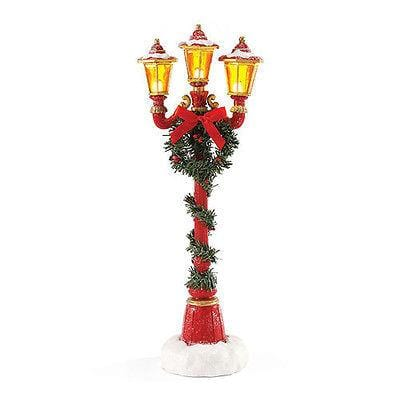 Possible Dreams Clothtique 2015 Santa's Lamp Post #4049275 NIB FREE SHIP 48 STAT