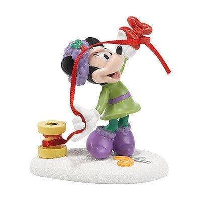 Dept 56 Disney 2014 Minnie's Finishing Touch #4038633 NIB FREE SHIPPING 48 STATE