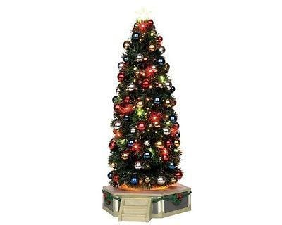 Lemax #24500 The Majestic Christmas Tree NIB FREE SHIPPING