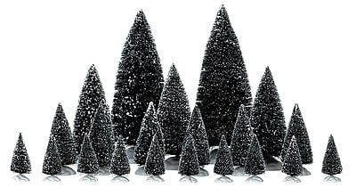 Lemax #34968 Assorted Pine Trees (Set/21)    FREE SHIPPING OFFER