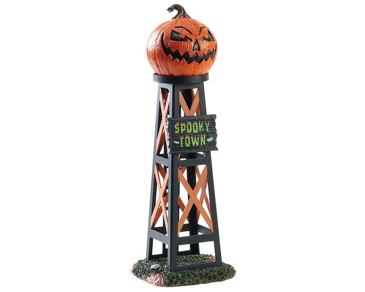 Lemax Evil Pumpkin Water Tower #83341    Free Shipping 48 States