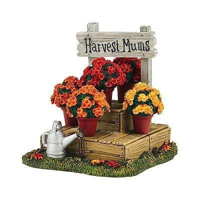 Dept 56 2016 Harvest Fields Mums #4054212 NIB FREE SHIPPING 48 STATES