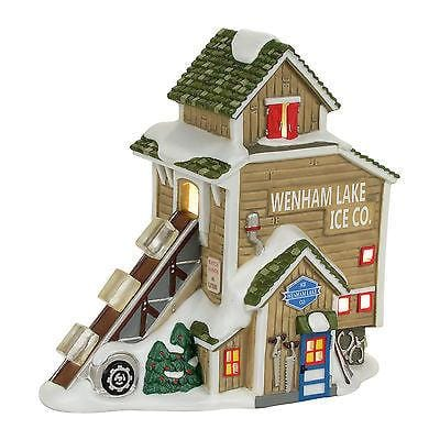 Dept 56 New England 2017 Wehham Lake Ice Company #4056655
