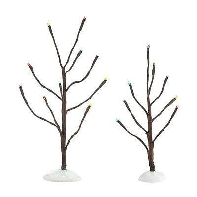 Dept 56 2014 Mulit Color LIghts Trees #4038817 NIB FREE SHIPPING 48 STATES
