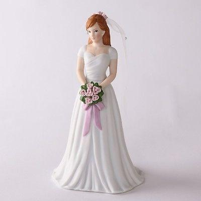 Enesco Growing Up Girls Brunette Bride #4031700 NIB FREE SHIP 48 STATE