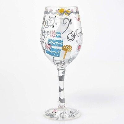 Lolita Wine Glasses Bride #GLS11-5522X NIB FREE SHIPPING 48 STATES