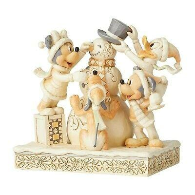 Jim Shore Disney Traditions 2019 Fab Five White Woodland #6002828 Free Shipping 48 States 2019