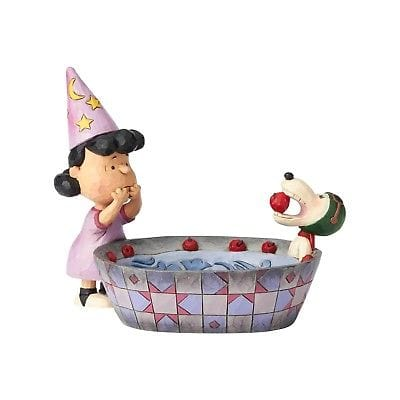 Jim Shore Peanuts 2018 Peanuts Halloween Candy Dish #6000982    FREE SHIPPING   2018
