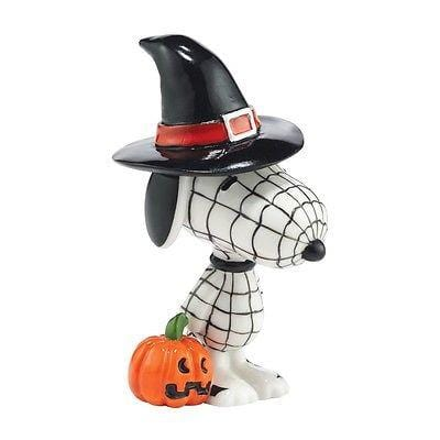 Dept 56 Peanuts Snoopy By Design Bewitched Beagle #4044963 NIB FREE SHIP 48 STAT