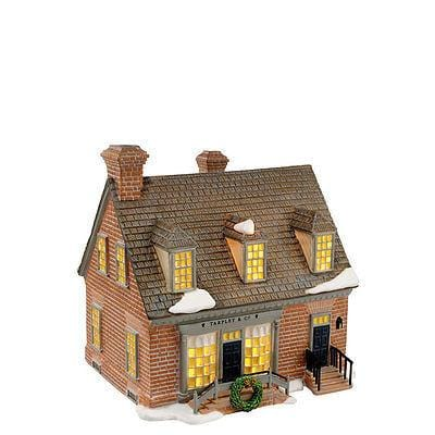 Dept 56 Williamsburg Tarpley's Store #4021334 FREE SHIP 48 STATES