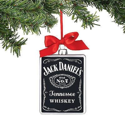 Dept 56 2016 Jack Daniel's Old No. 7 Rectangle Ornament #4051395    FREE SHIP