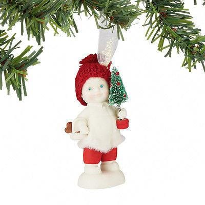 Dept 56 Snowbabies 2016 Toting The Tree #4051941 NIB FREE SHIPPING 48 STATES