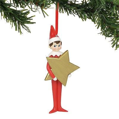 Dept 56 Elf On The Shelf 2018 Personalizable Star Ornament #6000370 NIB FREESHIP   2018
