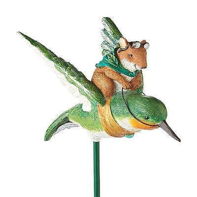 Dept 56 Garden 2014 Hummingbird Mouse Stake #4039899 NEW FREE SHIPPING 48 STATES