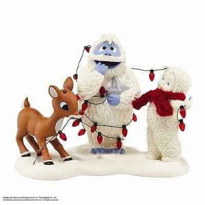 Dept 56 Snowbabies Lighting Up Bumble #4042509 NIB FREE SHIPPING 48 STATES