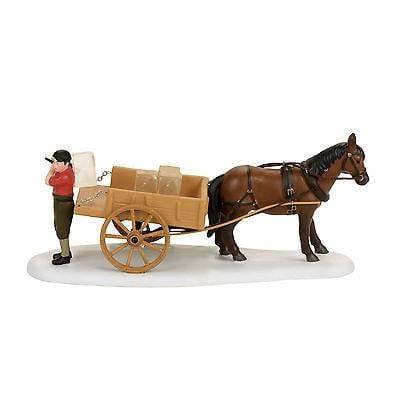 Dept 56 New England 2017 Whenham Lake Ice Delivery #4056658    FREE SHIP 48 STA