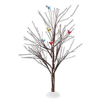 Dept 56 2015 Feathered Friends Tree #4047564 NIB FREE SHIPPING 48 STATES