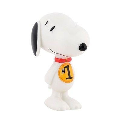 Dept 56 Peanuts Snoopy By Design Number 1 Fan #4037488 NIB FREE SHIP 48 STATES