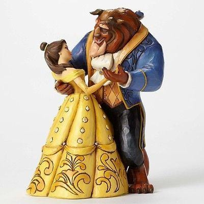 Jim Shore Disney Traditions 2015 Belle & Beast Dancing #4049619 NIB FREE SHIP