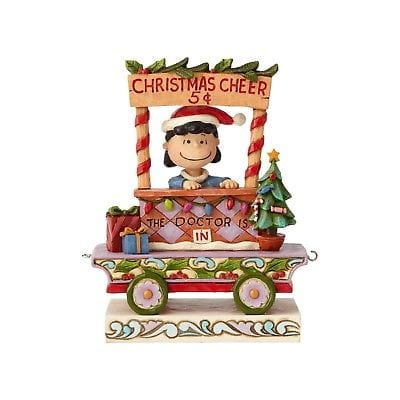 Jim Shore Peanuts 2018 Lucy Christmas Train Car #6000991 NIB FREE SHIP 48 STATES   2018