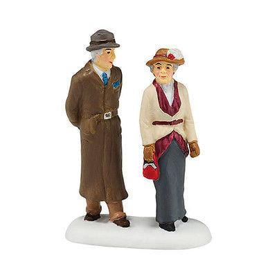 Dept 56 Downton 2015 Lady & Gentleman Friend #4044803 NIB FREE SHIP 48 STATES