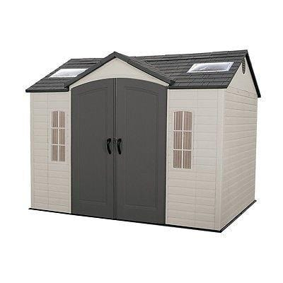 Lifetime 10'x8' Outdoor Deluxe Storage Shed Pickup or Freight Delivery is Extra