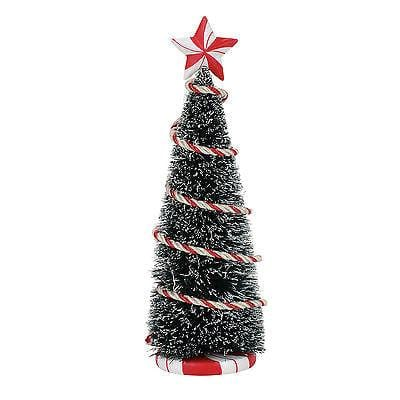 "Dept 56 2017 Peppermint Tinsel Tree 8"" #4057594      FREE SHIPPING 48 STATES"