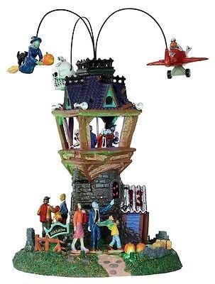 Lemax 2013 Spookytown Airshow Set/2 #34607 NIB FREE SHIPPING OFFER