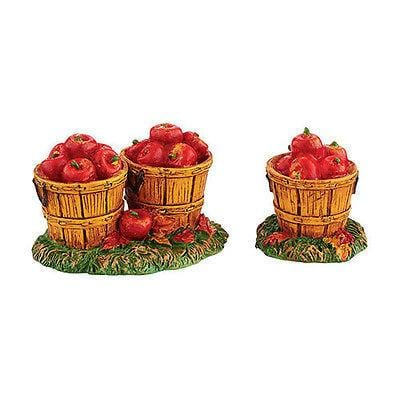 Dept 56 2015 Harvest Fields Apples #4047614 NIB FREE SHIPPING 48 STATES