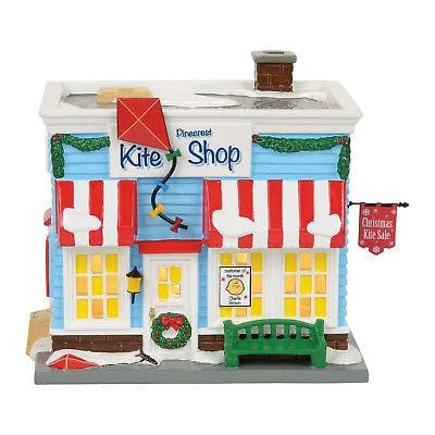 Jim Shore Peanuts 2017 Pinecrest Kite Shop #4057270     Free Shipping 48 States