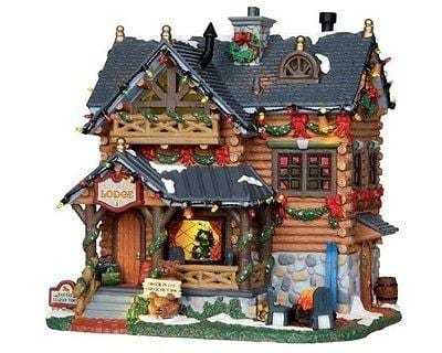Lemax 2012 Pine Grove Lodge #25338 NIB FREE SHIPPING