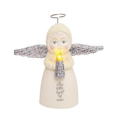 Dept 56 Snowbabies 2018 Peace This Little Light Of Mine #6001889 FREE SHIP   2018