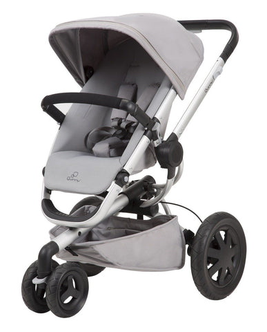 Quinny Buzz Xtra Stroller Gravel Grey     Free Shipping 48 States