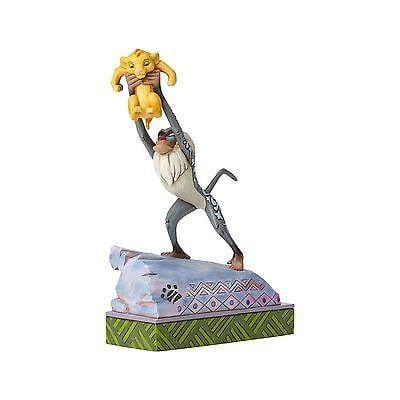 Jim Shore Disney Traditions 2016 Rafiki & Baby Simba #4055415     FREE SHIP