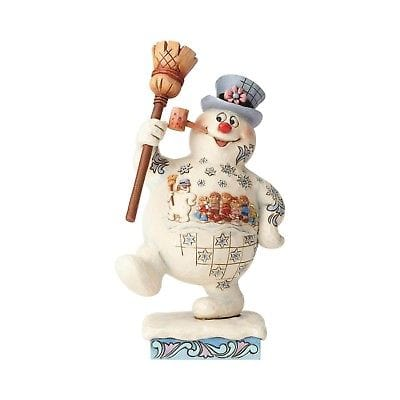 Jim Shore Frosty The Snowman 2018 Marching Frosty w/Parade Scene #6001582   Free Shipping 48 States   2018
