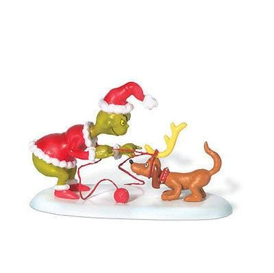 Dept 56 Grinch Grinch All I Need Is A Reindeer #804155 NIB FREE SHIP 48 STATES