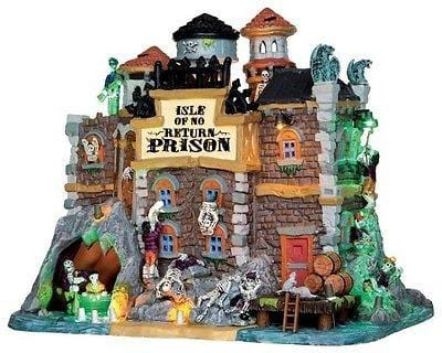 Lemax 2014 Isle Of No Return Prison #45664 NIB