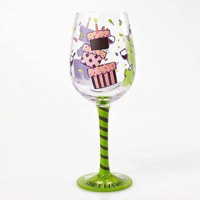 Lolita Wine Glasses Tipsy Birthday #4054097 NIB FREE SHIPPING 48 STATES