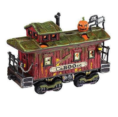 Dept 56 Halloween 2011 Haunted Rails CaBOOse #4020957 NIB FREE SHIPPING 48 STATE