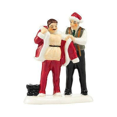 Dept 56 Snow Village 2015 Suit Up For Santa #4044868 NIB FREE SHIPPING 48 STATES