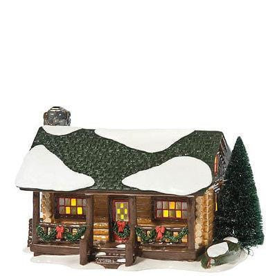 Dept 56 Snow Village Loon Lake Cabin #808949 FREE SHIP