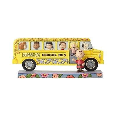 Jim Shore Peanuts 2017 Peanuts School Bus #4059439 NIB FREE SHIPPING 48 STATES