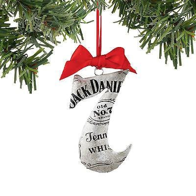 Dept 56 2016 Jack Daniel's Raw Tin Seven Ornament #4052188    FREE SHIP