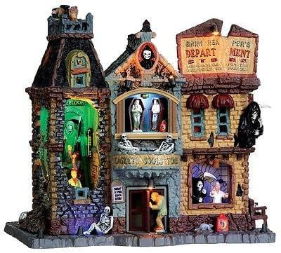 Lemax 2013 Grim Reaper's Department Store #35492 NIB FREE SHIPPING OFFER