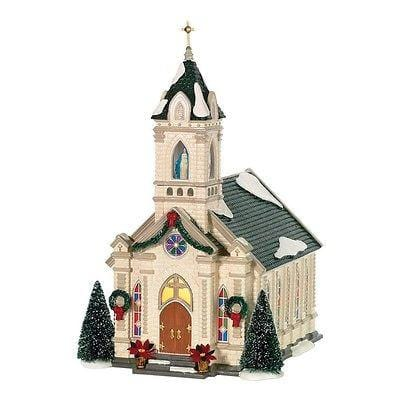 Dept 56 Snow Village Our Lady Of Grace Church #805503 NIB FREE SHIPPING 48 STATE