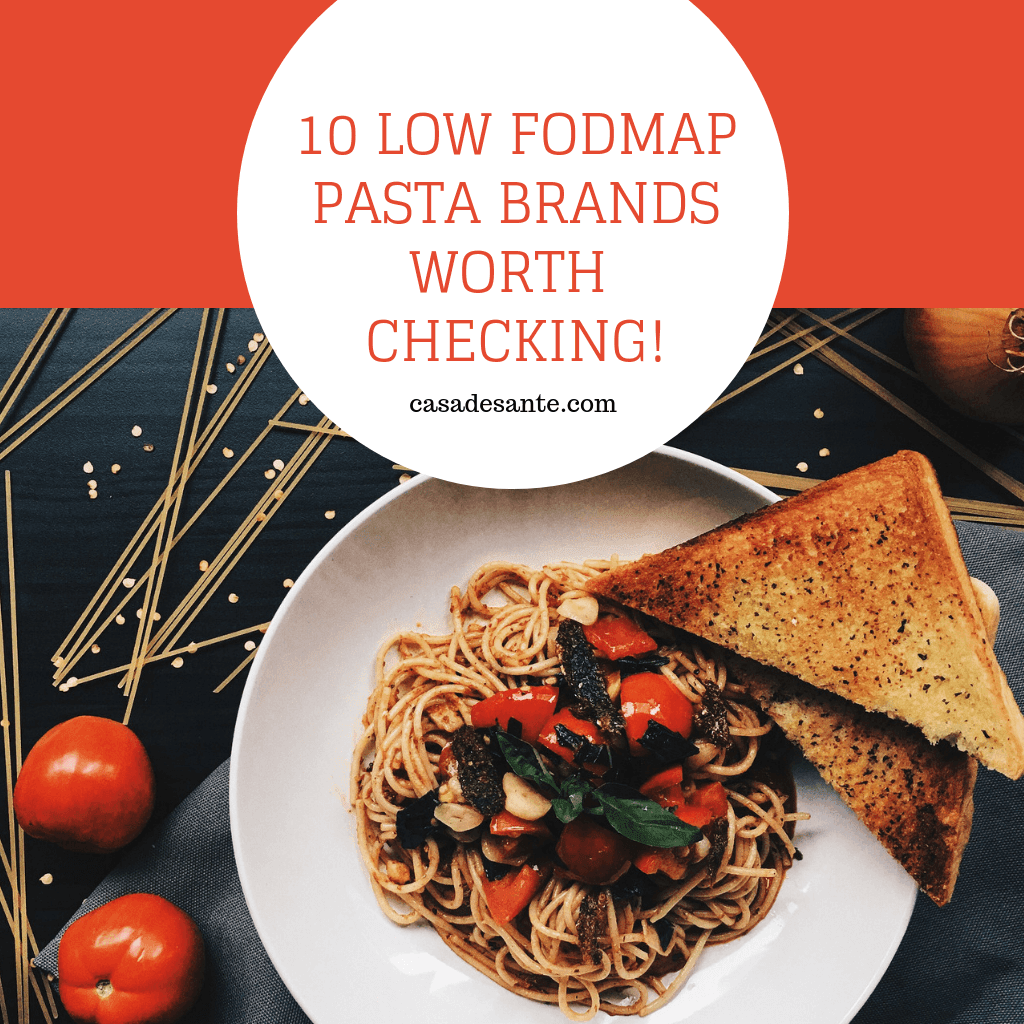 10 Low FODMAP Pasta Brands Worth Checking!