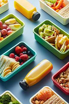 Low FODMAP lunch box ideas for kids