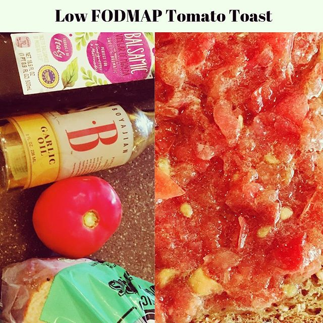 Low FODMAP Spanish Tomato Toast (Pan Con Tomate)