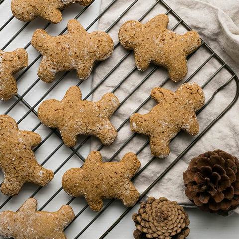 Low FODMAP Gingerbread Protein Cookies Recipe