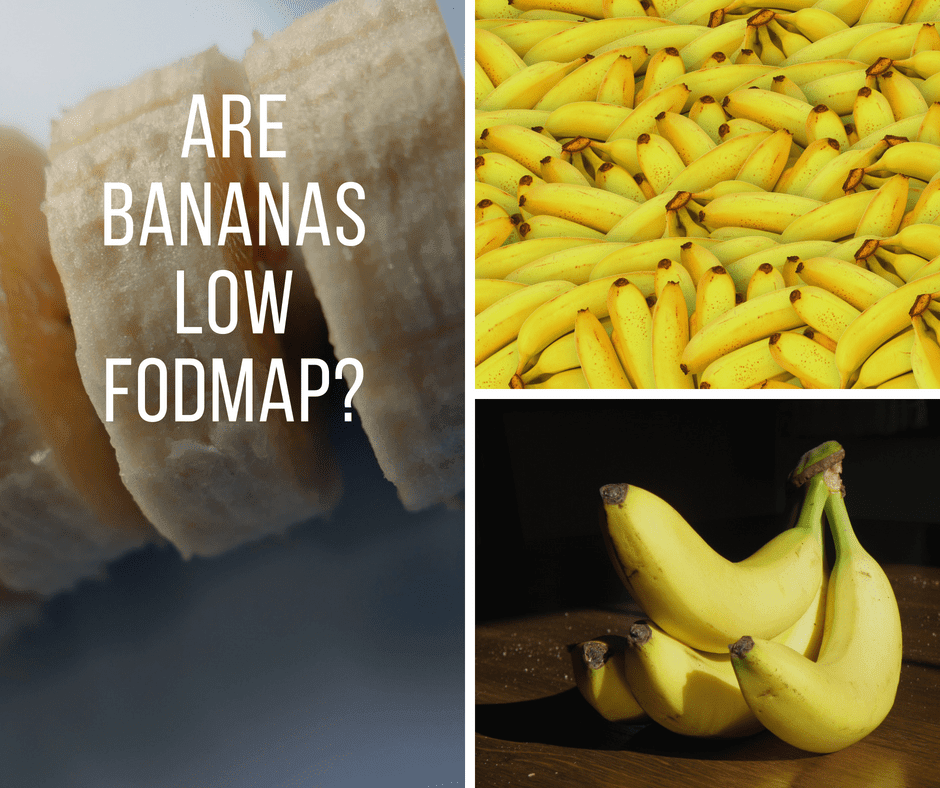 Are Bananas Low FODMAP?